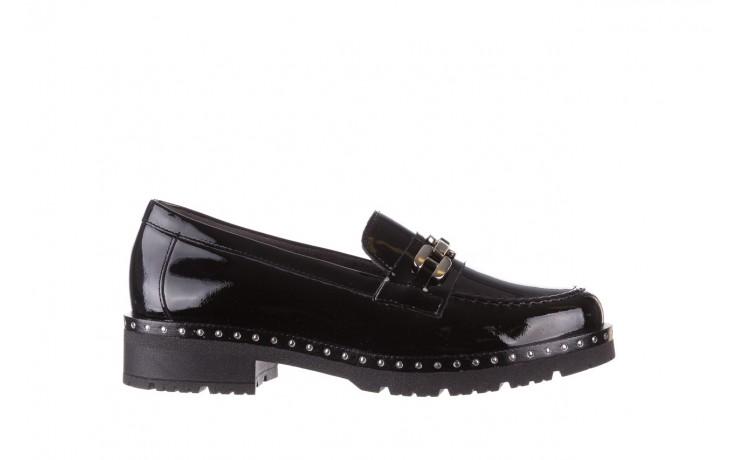 Półbuty pitillos 5811 negro, czarny, skóra naturalna lakierowana  - na obcasie - półbuty - buty damskie - kobieta