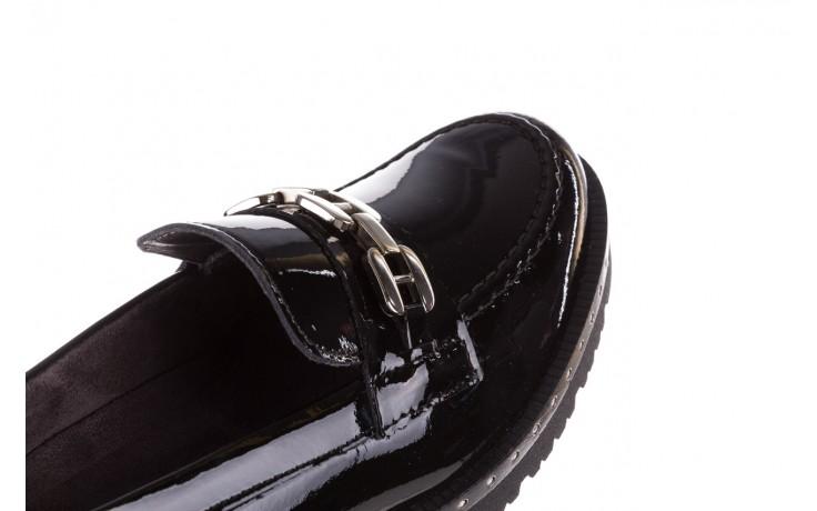 Półbuty pitillos 5811 negro, czarny, skóra naturalna lakierowana  - na obcasie - półbuty - buty damskie - kobieta 5