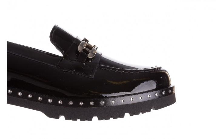 Półbuty pitillos 5811 negro, czarny, skóra naturalna lakierowana  - na obcasie - półbuty - buty damskie - kobieta 6