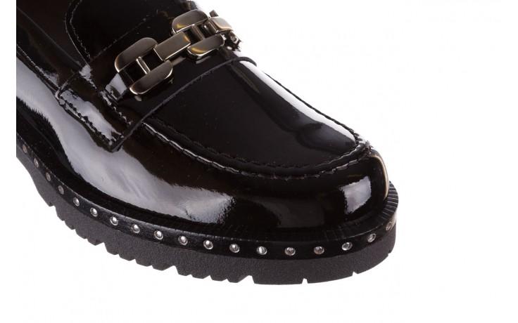 Półbuty pitillos 5811 negro, czarny, skóra naturalna lakierowana  - na obcasie - półbuty - buty damskie - kobieta 7
