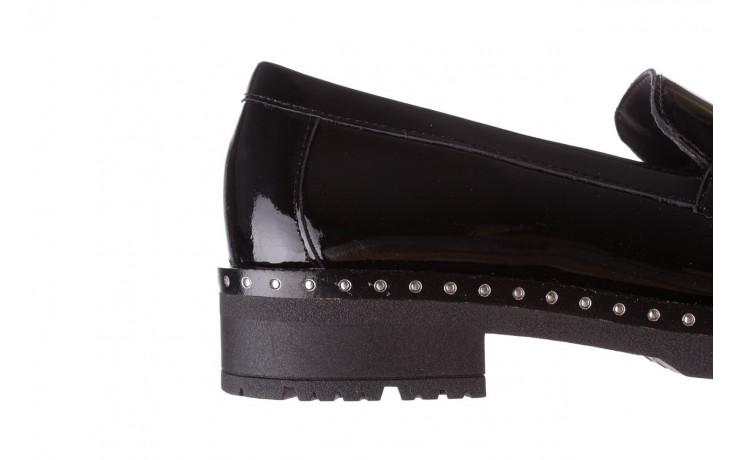 Półbuty pitillos 5811 negro, czarny, skóra naturalna lakierowana  - na obcasie - półbuty - buty damskie - kobieta 8