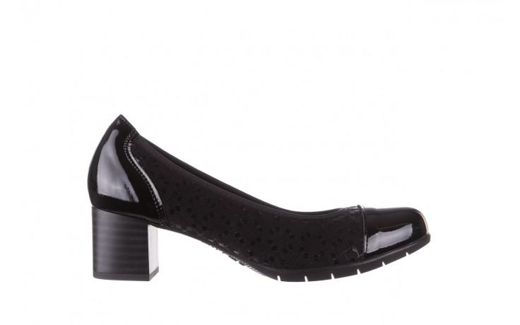Czółenka pitillos 5740 negro-negr, czarny, skóra naturalna  - czółenka - buty damskie - kobieta