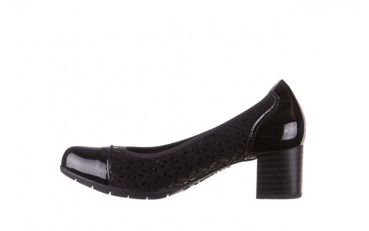 Czółenka pitillos 5740 negro-negr, czarny, skóra naturalna  - czółenka - buty damskie - kobieta 3