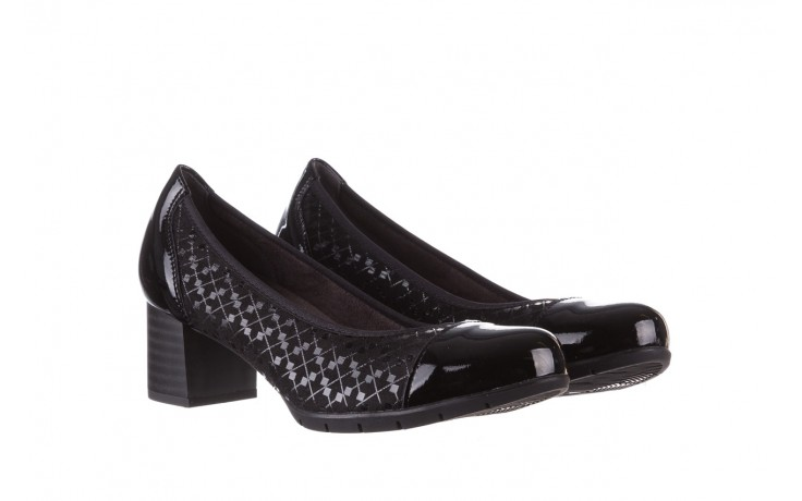 Czółenka pitillos 5740 negro-negr, czarny, skóra naturalna  - czółenka - buty damskie - kobieta 1