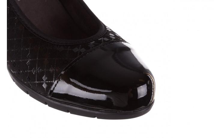 Czółenka pitillos 5740 negro-negr, czarny, skóra naturalna  - czółenka - buty damskie - kobieta 6