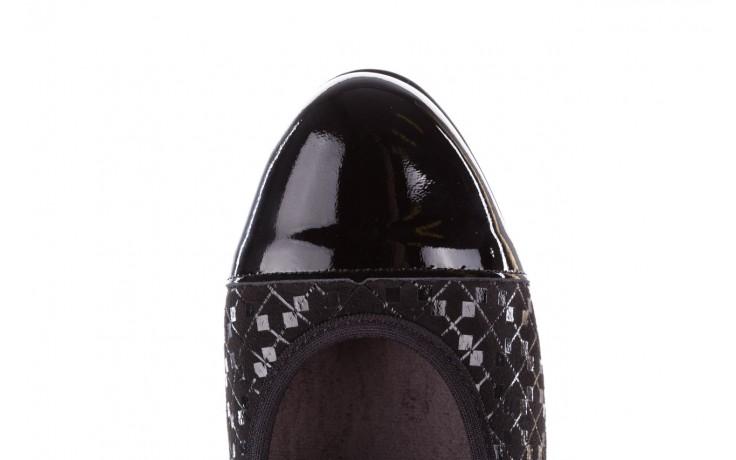 Czółenka pitillos 5740 negro-negr, czarny, skóra naturalna  - czółenka - buty damskie - kobieta 7