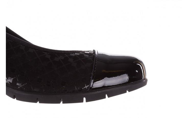 Czółenka pitillos 5740 negro-negr, czarny, skóra naturalna  - czółenka - buty damskie - kobieta 8