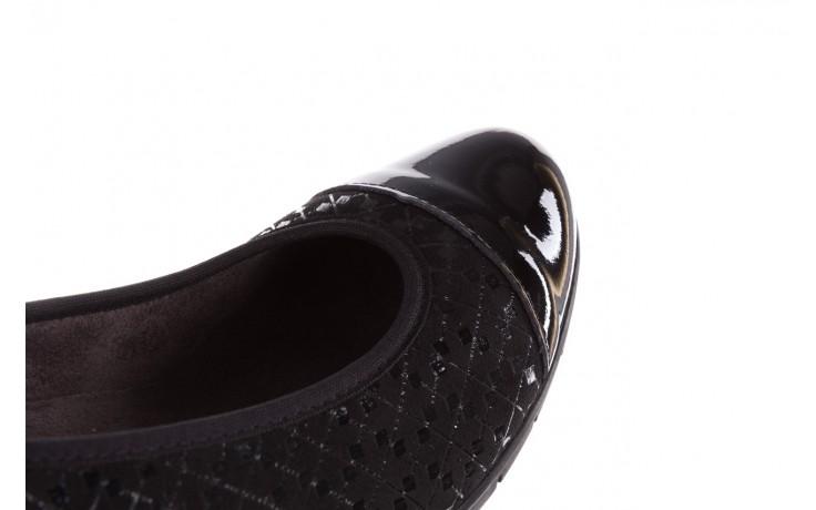 Czółenka pitillos 5740 negro-negr, czarny, skóra naturalna  - czółenka - buty damskie - kobieta 9