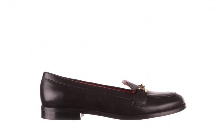 Półbuty bayla-157 b024-076-p czarny 157020, skóra naturalna  - skórzane - półbuty - buty damskie - kobieta