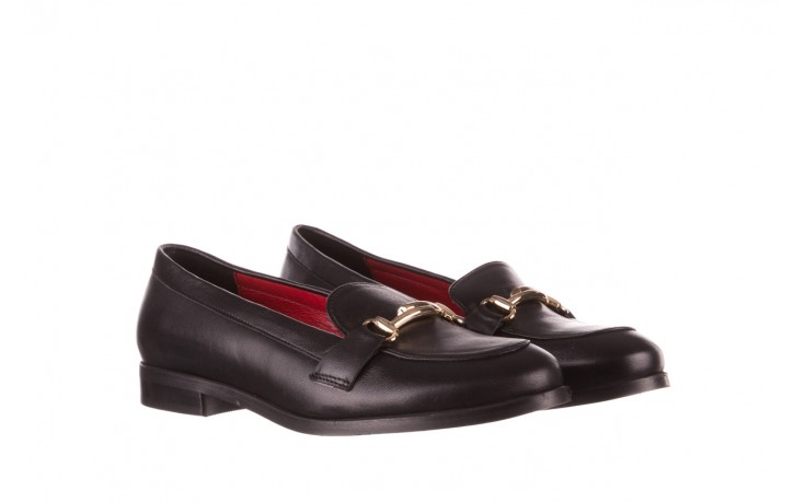 Półbuty bayla-157 b024-076-p czarny 157020, skóra naturalna  - skórzane - półbuty - buty damskie - kobieta 1
