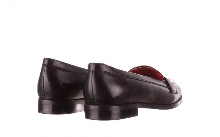 Półbuty bayla-157 b024-076-p czarny 157020, skóra naturalna  - skórzane - półbuty - buty damskie - kobieta 4