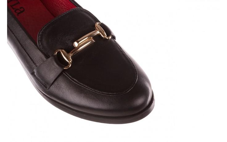 Półbuty bayla-157 b024-076-p czarny 157020, skóra naturalna  - skórzane - półbuty - buty damskie - kobieta 6