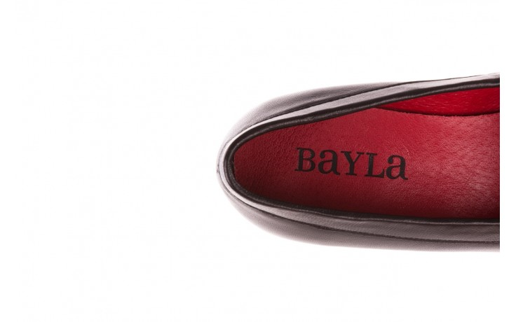 Półbuty bayla-157 b024-076-p czarny 157020, skóra naturalna  - skórzane - półbuty - buty damskie - kobieta 7