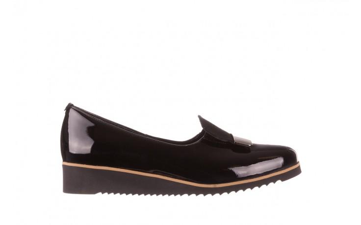 Półbuty bayla-157 b017-090-p czarny 157019, skóra naturalna lakierowana - skórzane - półbuty - buty damskie - kobieta