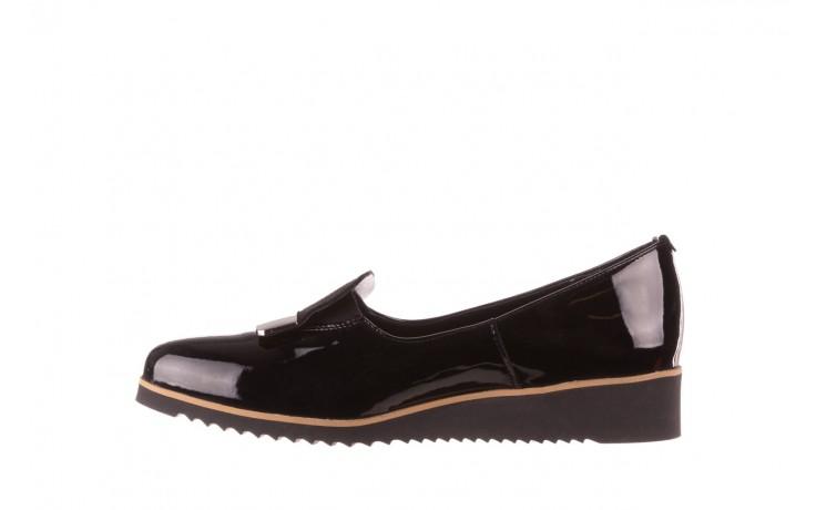 Półbuty bayla-157 b017-090-p czarny 157019, skóra naturalna lakierowana - skórzane - półbuty - buty damskie - kobieta 3