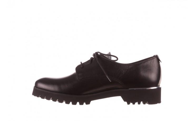 Półbuty bayla-157 b021-076-p czarny 157018, skóra naturalna - skórzane - półbuty - buty damskie - kobieta 3