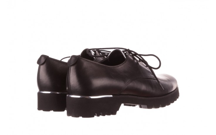 Półbuty bayla-157 b021-076-p czarny 157018, skóra naturalna - skórzane - półbuty - buty damskie - kobieta 4