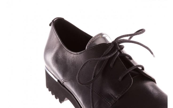 Półbuty bayla-157 b021-076-p czarny 157018, skóra naturalna - skórzane - półbuty - buty damskie - kobieta 6