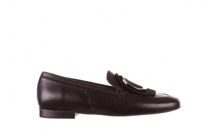 Półbuty bayla-157 b022-076-p czarny 157022, skóra naturalna  - skórzane - półbuty - buty damskie - kobieta