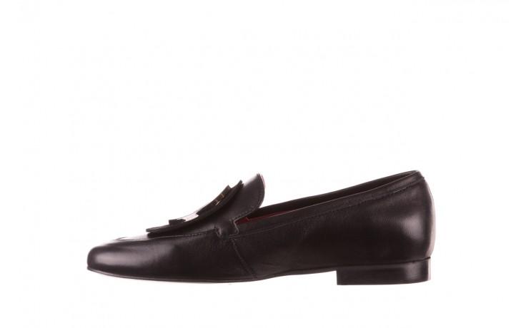 Półbuty bayla-157 b022-076-p czarny 157022, skóra naturalna  - skórzane - półbuty - buty damskie - kobieta 3