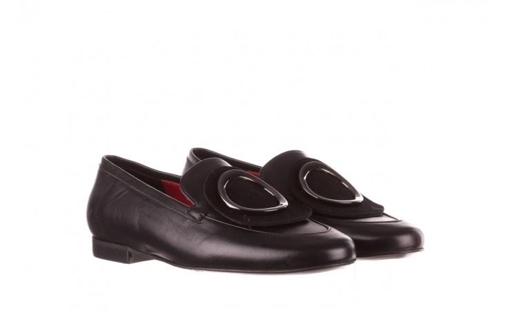 Półbuty bayla-157 b022-076-p czarny 157022, skóra naturalna  - skórzane - półbuty - buty damskie - kobieta 1