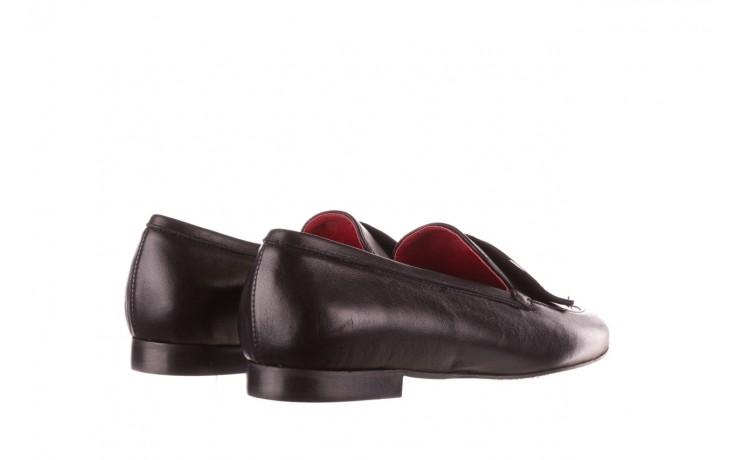 Półbuty bayla-157 b022-076-p czarny 157022, skóra naturalna  - skórzane - półbuty - buty damskie - kobieta 4
