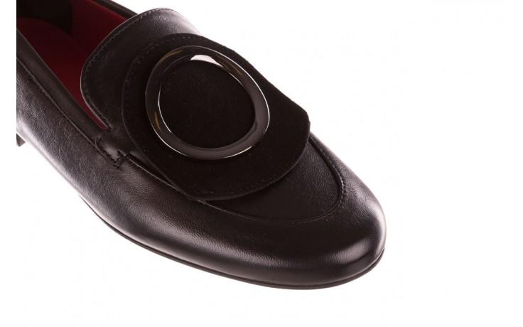 Półbuty bayla-157 b022-076-p czarny 157022, skóra naturalna  - skórzane - półbuty - buty damskie - kobieta 6