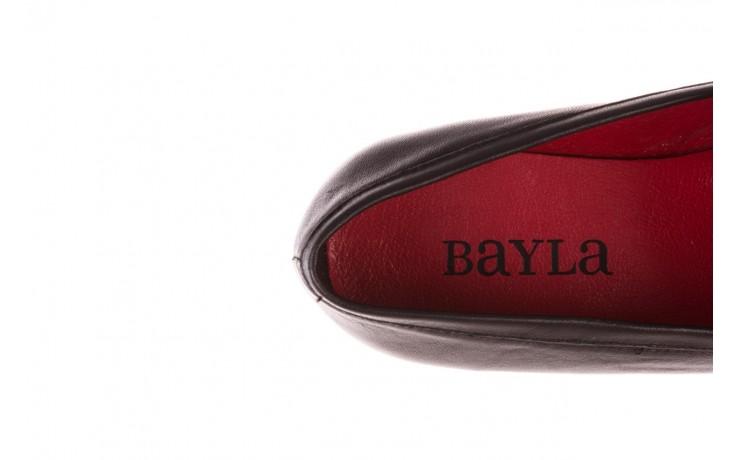 Półbuty bayla-157 b022-076-p czarny 157022, skóra naturalna  - skórzane - półbuty - buty damskie - kobieta 7