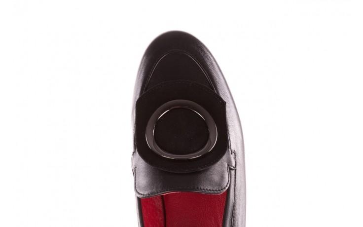 Półbuty bayla-157 b022-076-p czarny 157022, skóra naturalna  - skórzane - półbuty - buty damskie - kobieta 8