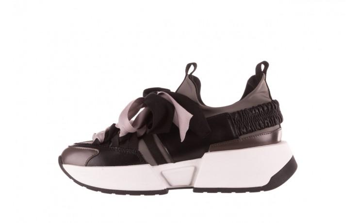 Sneakersy sca'viola e-32  graphite, szary, skóra naturalna - sale 3