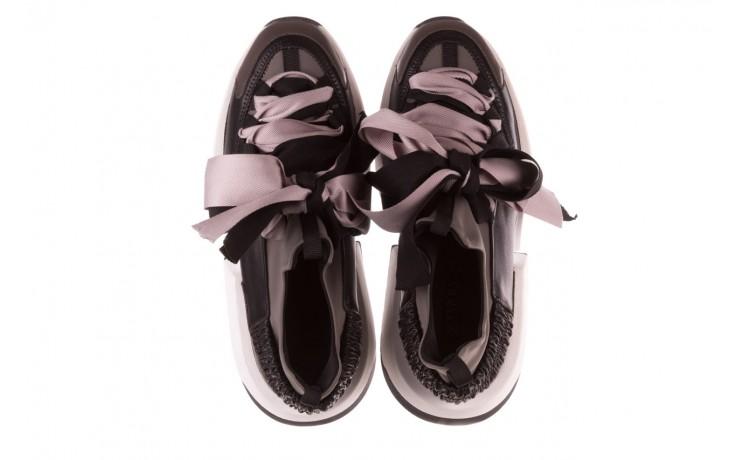 Sneakersy sca'viola e-32  graphite, szary, skóra naturalna - sale 5