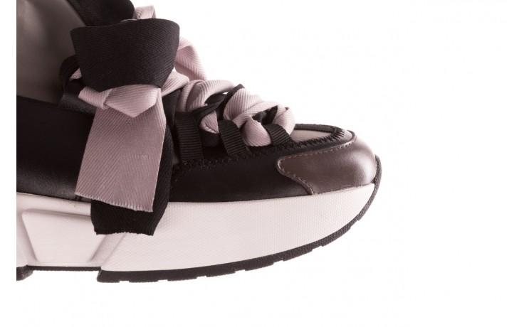 Sneakersy sca'viola e-32  graphite, szary, skóra naturalna - sale 7