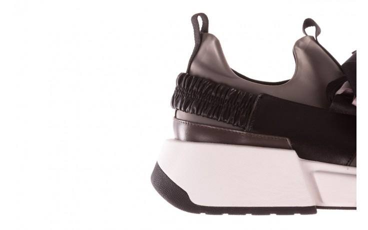 Sneakersy sca'viola e-32  graphite, szary, skóra naturalna - sale 8