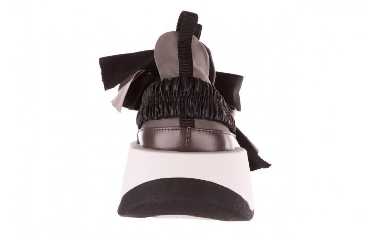 Sneakersy sca'viola e-32  graphite, szary, skóra naturalna - sale 9