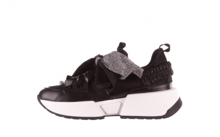 Sneakersy sca'viola e-31  black, czarny, skóra naturalna 3