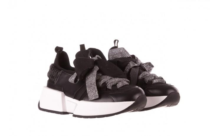 Sneakersy sca'viola e-31  black, czarny, skóra naturalna 1