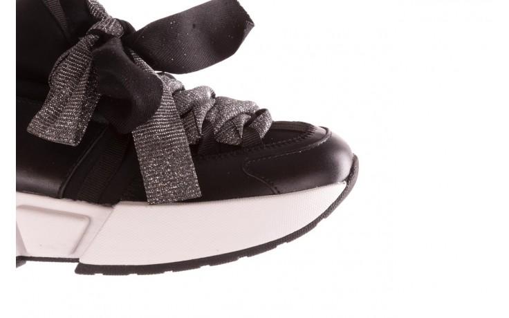 Sneakersy sca'viola e-31  black, czarny, skóra naturalna 7
