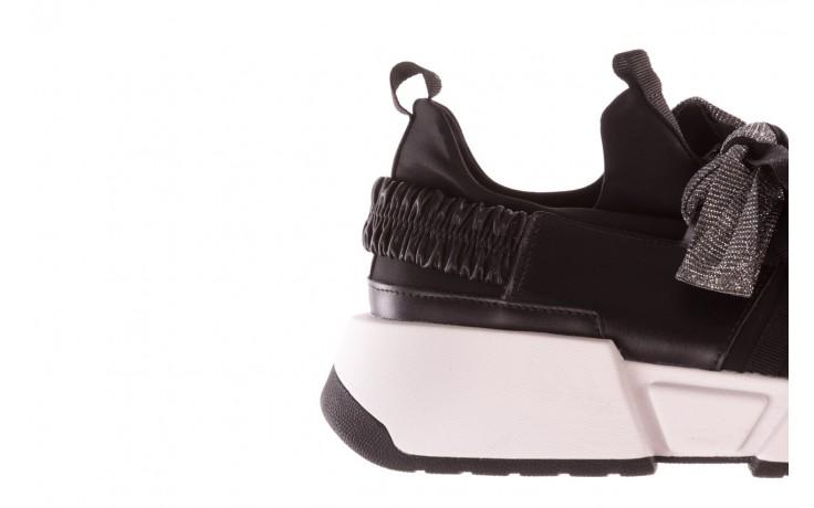 Sneakersy sca'viola e-31  black, czarny, skóra naturalna 8