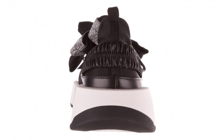 Sneakersy sca'viola e-31  black, czarny, skóra naturalna 9