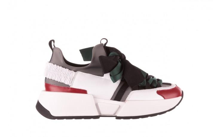 Sneakersy sca'viola e-33  green, zielony, skóra naturalna - obuwie sportowe - dla niej  - sale