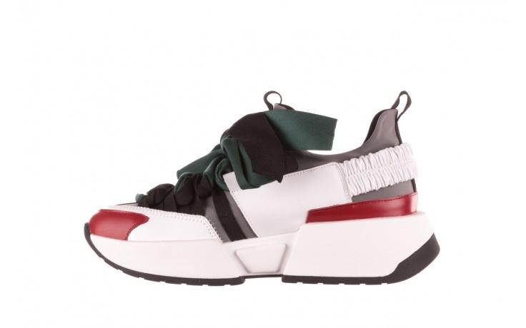 Sneakersy sca'viola e-33  green, zielony, skóra naturalna - obuwie sportowe - dla niej  - sale 3