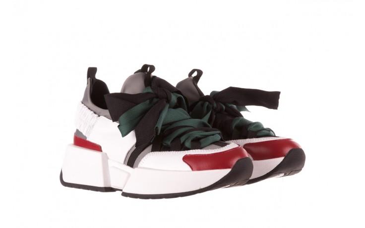 Sneakersy sca'viola e-33  green, zielony, skóra naturalna - obuwie sportowe - dla niej  - sale 1