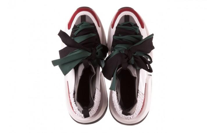 Sneakersy sca'viola e-33  green, zielony, skóra naturalna - obuwie sportowe - dla niej  - sale 5