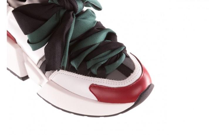 Sneakersy sca'viola e-33  green, zielony, skóra naturalna - obuwie sportowe - dla niej  - sale 6