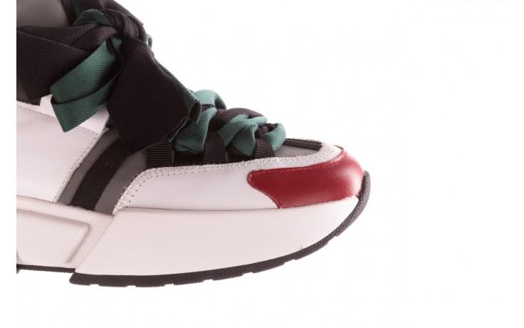 Sneakersy sca'viola e-33  green, zielony, skóra naturalna - obuwie sportowe - dla niej  - sale 7
