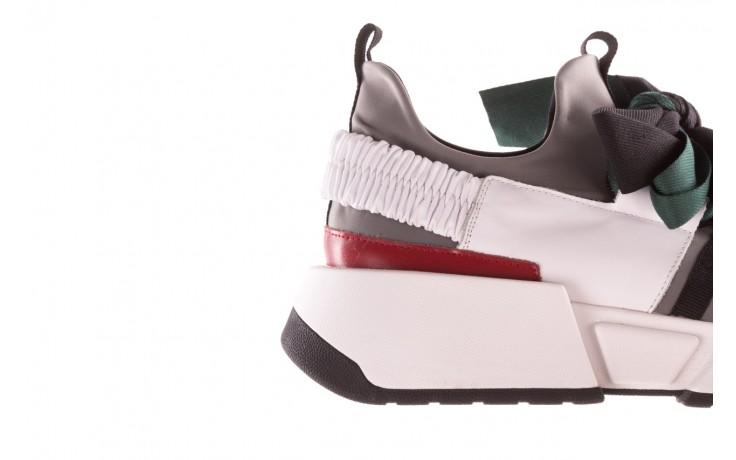 Sneakersy sca'viola e-33  green, zielony, skóra naturalna - obuwie sportowe - dla niej  - sale 8