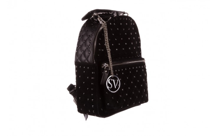 Plecak sca'viola t-57 black, czarny, skóra naturalna  - torebki - akcesoria - kobieta 1