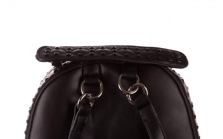 Plecak sca'viola t-57 black, czarny, skóra naturalna  - torebki - akcesoria - kobieta 3