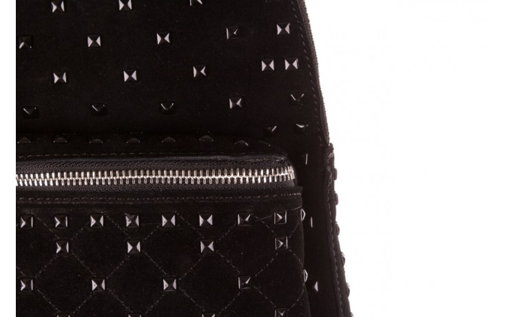 Plecak sca'viola t-57 black, czarny, skóra naturalna  - torebki - akcesoria - kobieta 5