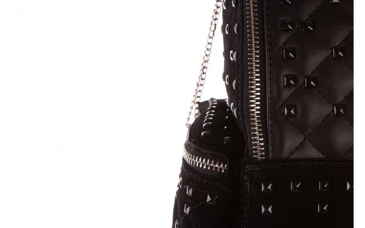 Plecak sca'viola t-57 black, czarny, skóra naturalna  - torebki - akcesoria - kobieta 6
